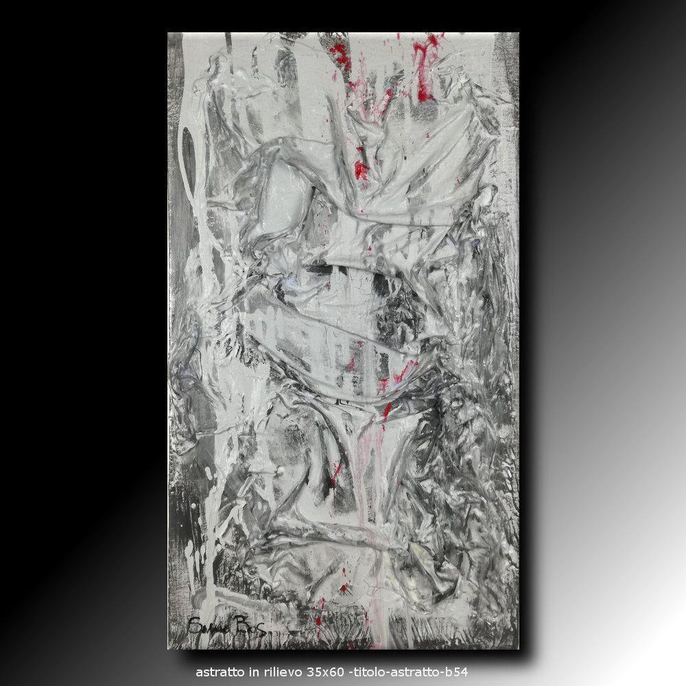 quadri-moderni-in-rilievo-35x60 | quadri astratti sauro bos | Pinterest