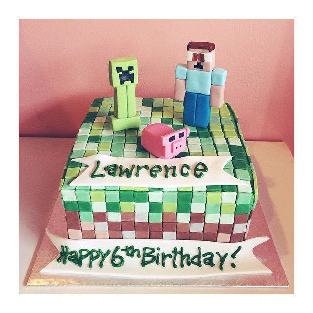 Minecraft Birthday Cake By 2tarts Bakery New Braunfels Texas