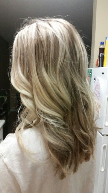 Highlights and lowlights in dirty blonde hair | Hair and ...