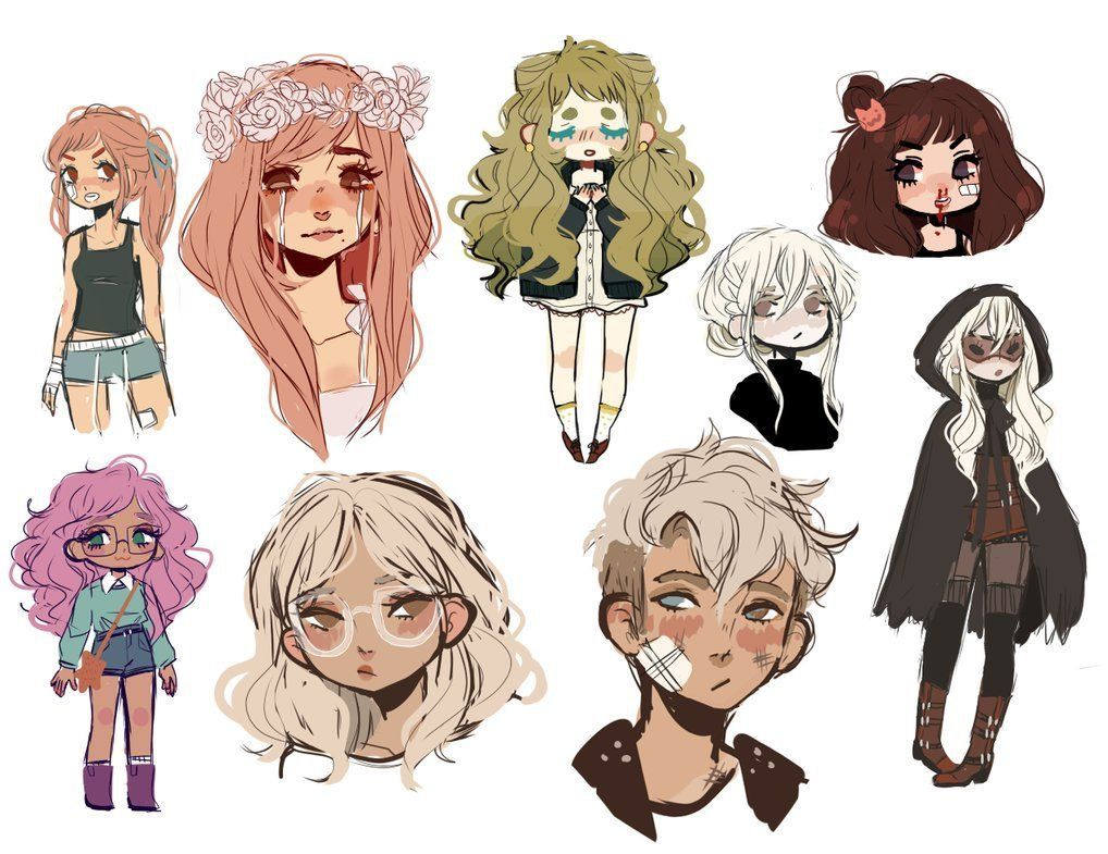 Character Design Art School : Pin by 💞iredescent💞 on ⊱ doodles and sketches pinterest