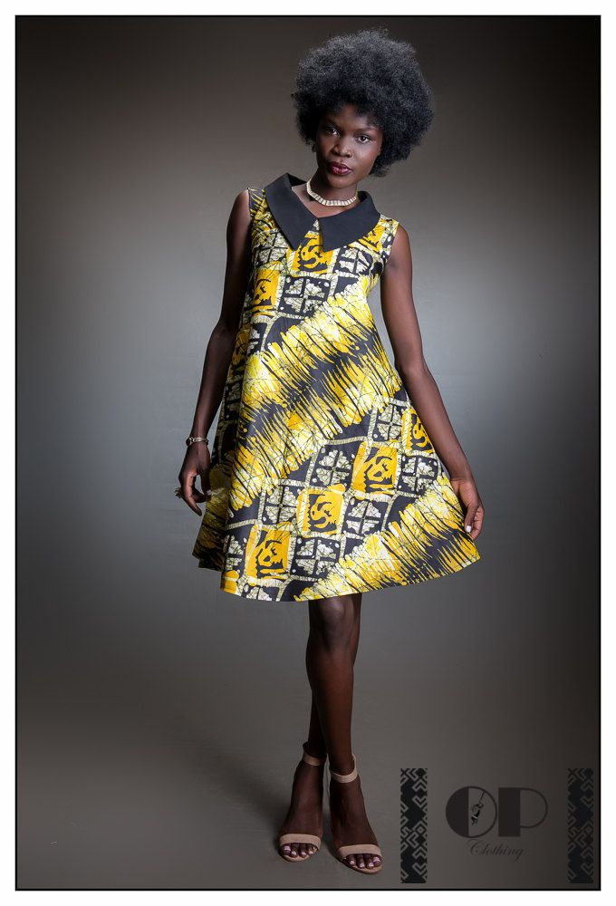 Dress Opclothinguk Ankara Short African By Print 54RjLA