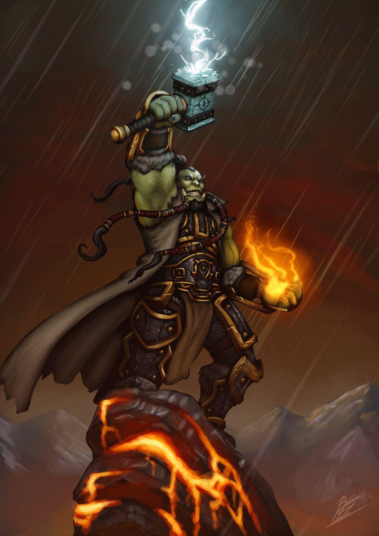 Warcraft Tribute Thrall Warcraft World Of Warcraft Warcraft