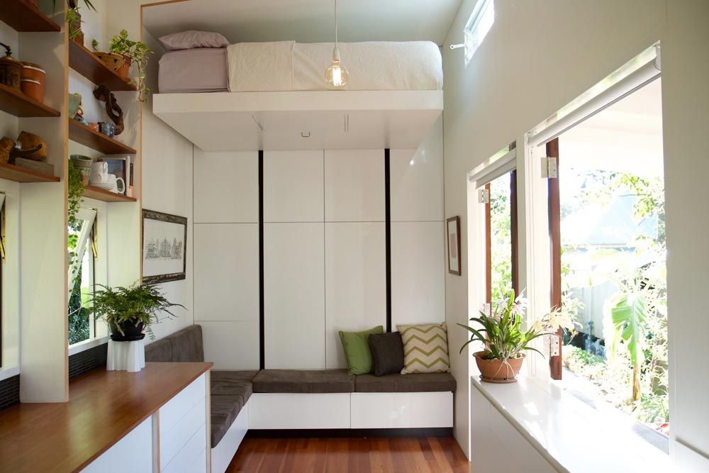 Portal by the tiny house company