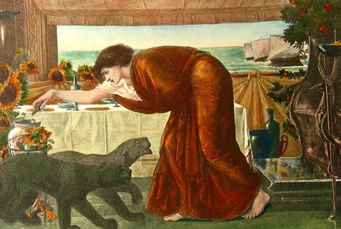 Sir Edward Burne-Jones, The Wine of Circe, 1900; Birmingham Museum and Art Gallery