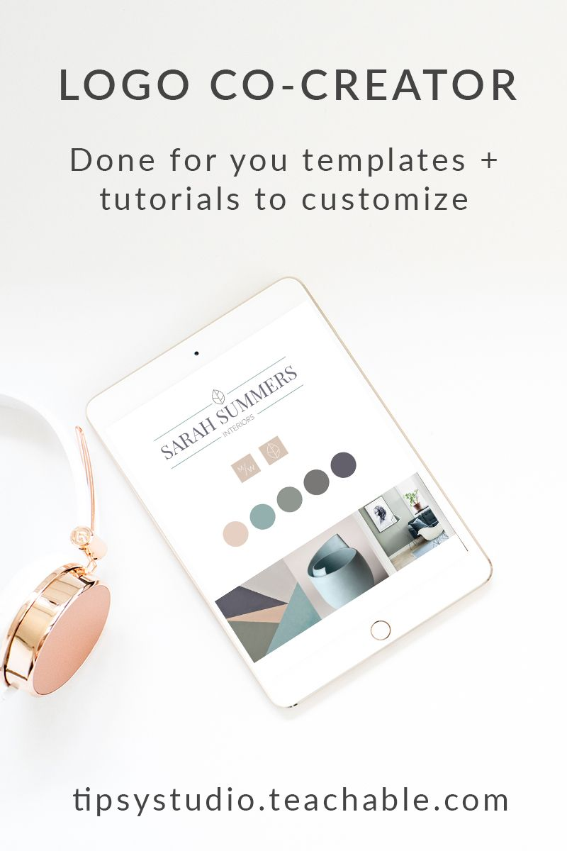 Create your logo, brand mark, and color palette with these done for ...