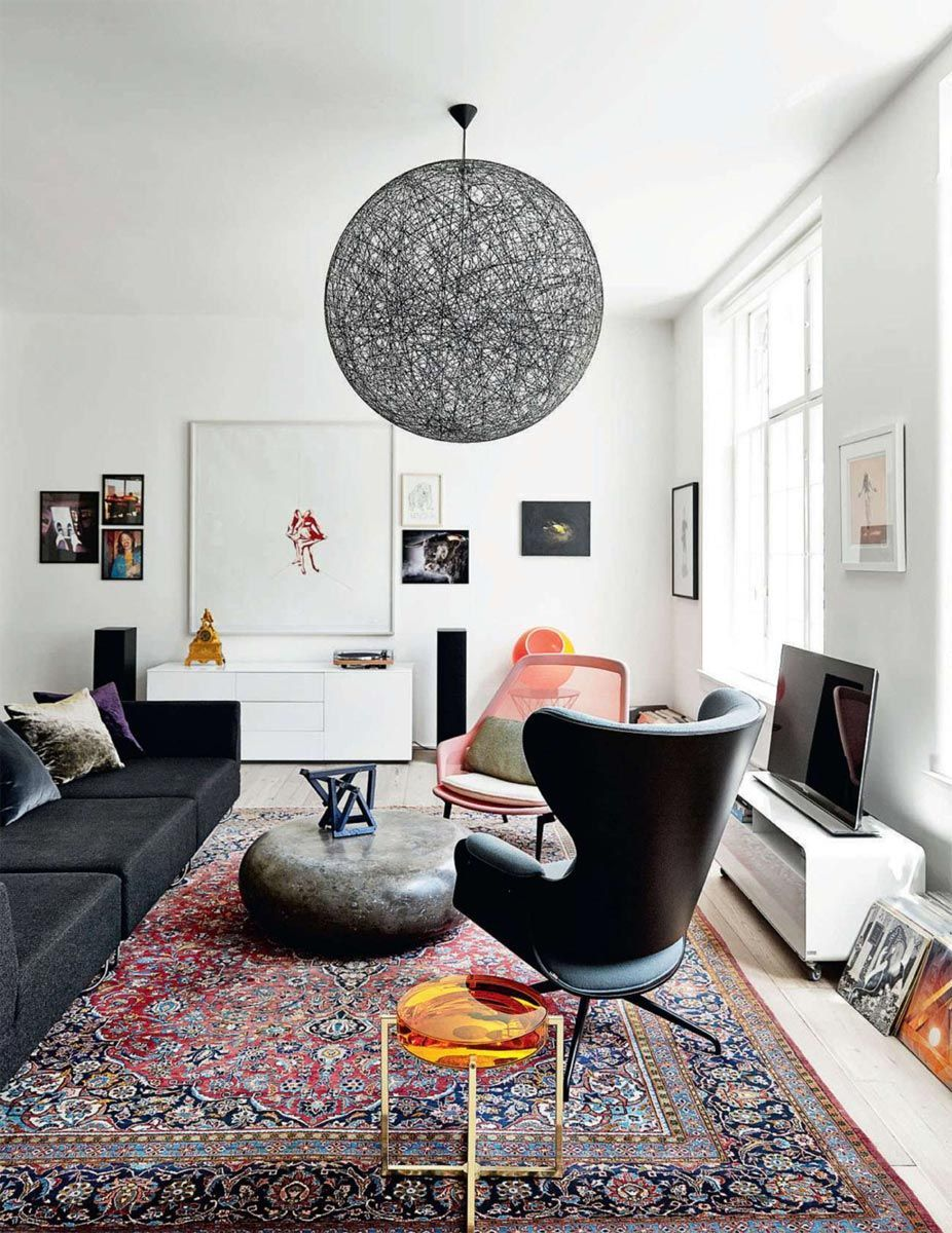 This Painfully Chic Copenhagen Oasis Was a School in 1893 | Lamps ...