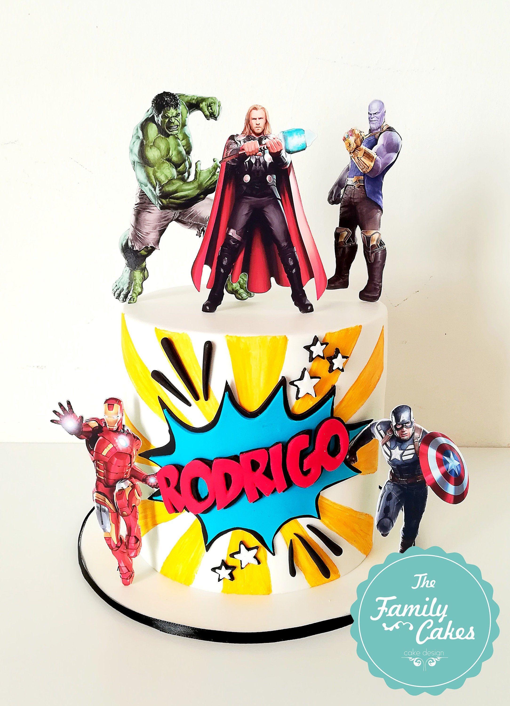 Avengers cake toppers avengers theme super hero toppers
