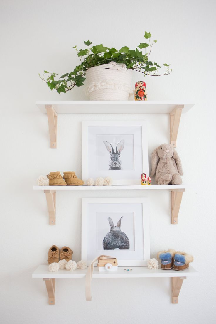 Lola's Nursery Reveal : A Boho Neutral Space, with Bunny Accents images