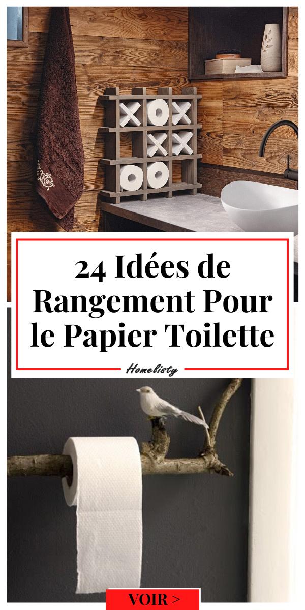 Rangement Papier Toilette 24 Idees Tendance Originales Papier Toilette Toilettes Rangement Papier Toilette