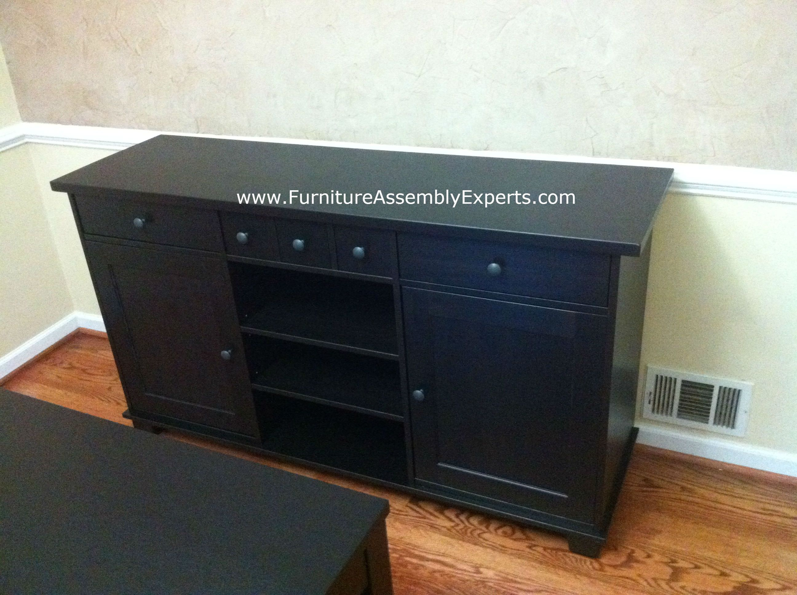 Ikea Stornas Buffet Assembled In Washington Dc For A Customer