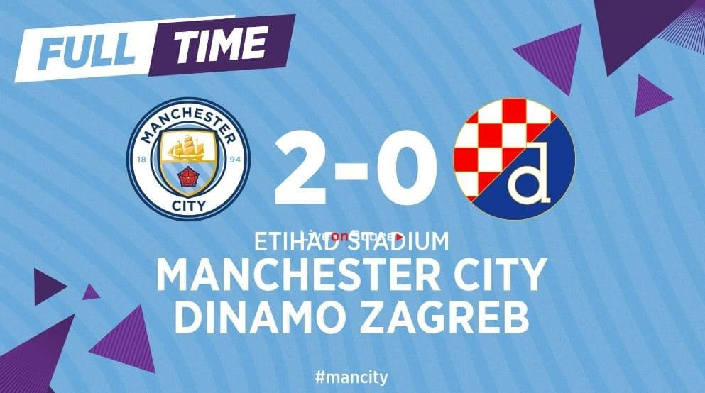 Manchester City 2 0 D Zagreb Full Highlight Video Uefa Champions League Allsportsnews Football Highlightvideos Manchester City Full Highlights Zagreb