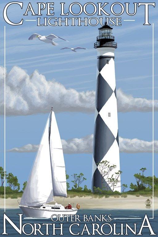 Cape Lookout Lighthouse Carolina