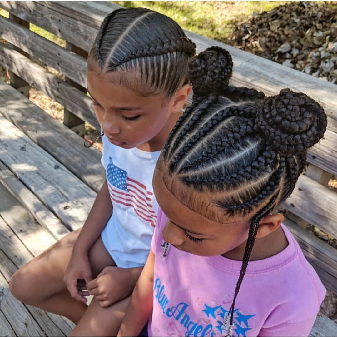 𝓹𝓻𝓮𝓮𝓽𝓲𝓿𝓲𝓬𝓴𝓲 | Black kids hairstyles, Kids hairstyles, Hair ...
