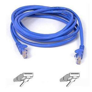 Belkin Cat6 Patch Cable (A3L980-15-BLU-S) - by Cables To Go. $7.12. General Information Manufacturer/Supplier: Belkin International, Inc Manufacturer Part Number: A3L980-15-BLU-S Brand Name: Belkin Product Name: Cat6 Patch Cable Marketing Information: How does a Cat 6 patch cable affect your network? It's like when you replace one blocked pipe in your plumbing line and suddenly the flow increases, the transfer is more fluid and the whole system is improved. The RJ45 High Per...