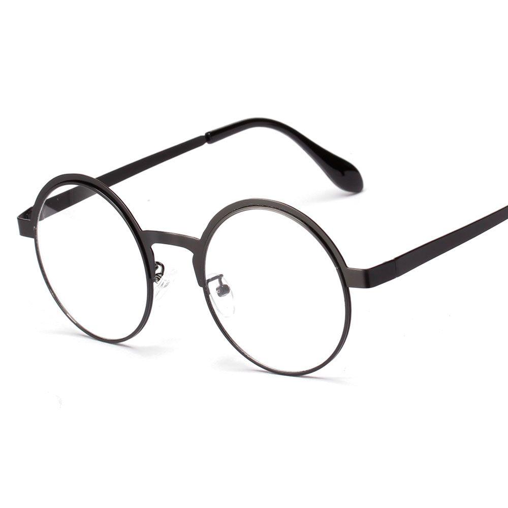 f9054f664e438 Pas cher Gros haute qualité antique retro lunettes rondes metal frame  hommes grande vintage lunettes rondes cadres femmes UV oculos redondo