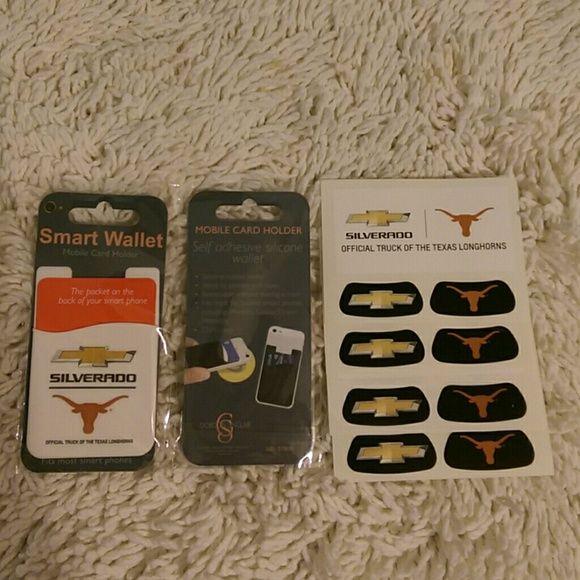 Chevrolet Smart Wallet Football Stickies Smart Wallet
