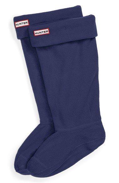 New Women/'s HUNTER Boot Socks Fleece Welly