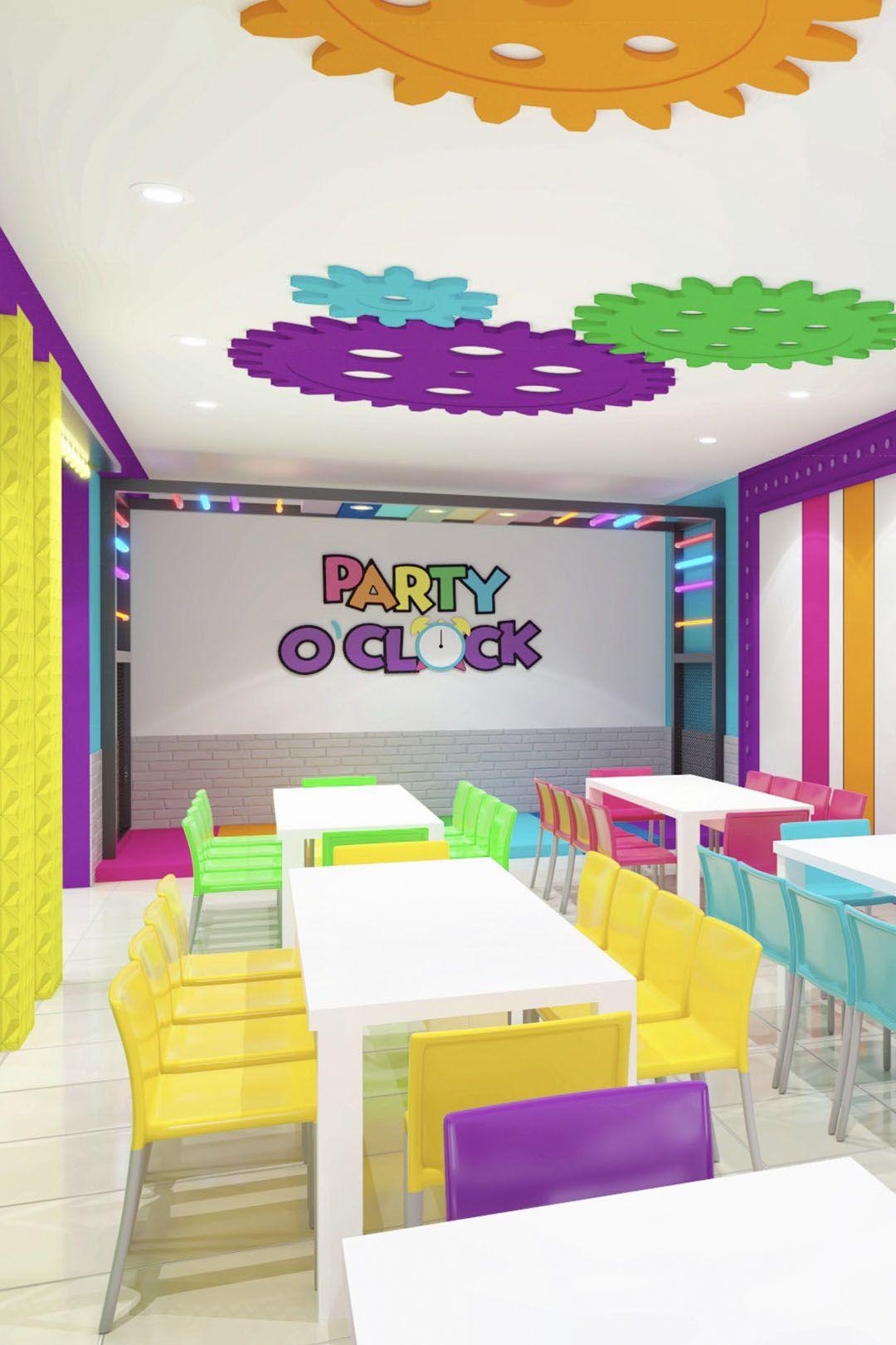 Party O Clock Salón De Eventos Salones De Fiestas Decoracion De Aulas