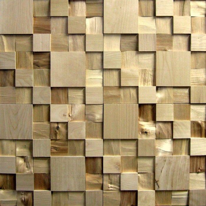 3D стеновые панели из березы TESSWOOD DECOR Диагональ | Woods, Wood ...