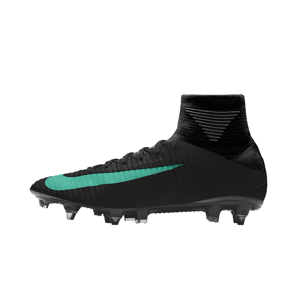 new style b8263 c5b2d Nike Mercurial Superfly V Tech Craft FG iD Men s Firm-Ground Soccer Cleats  Size 11.5 (Blue)