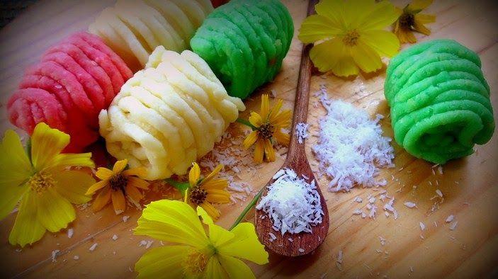 Resep Getuk Lindri Singkong Tabur Kelapa Nikmat Resep Makanan Resep Masakan Asia