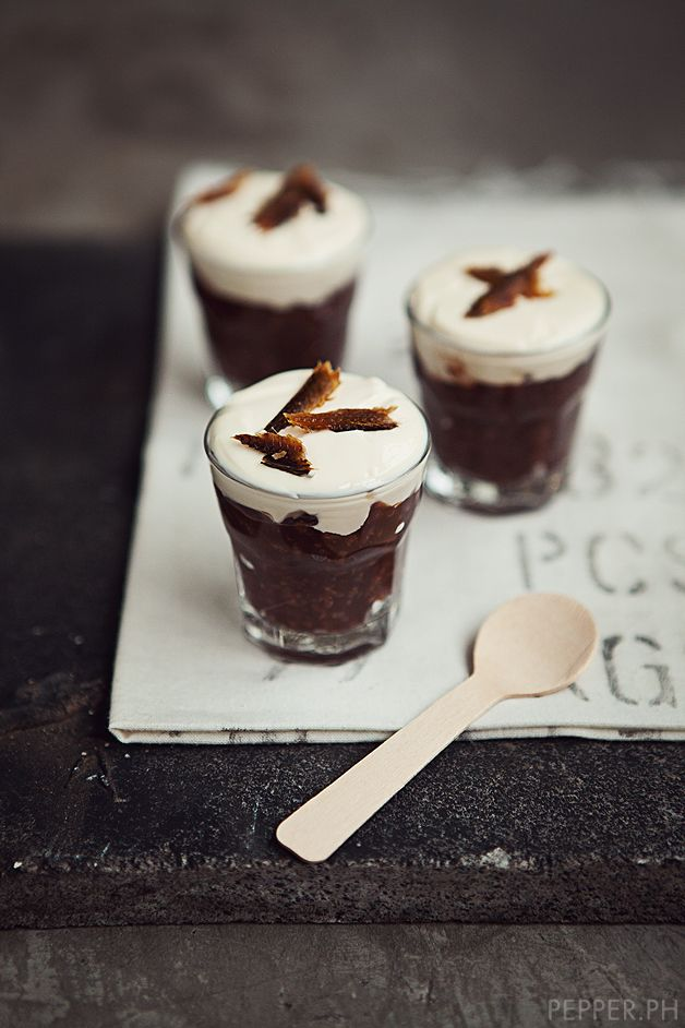 champorado amaretto shots