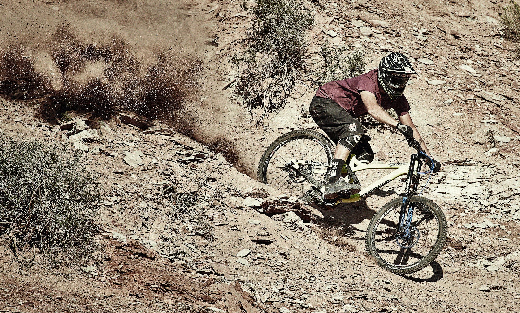 Redbull Rampage Downhill Mountain Bike Competition On Behance
