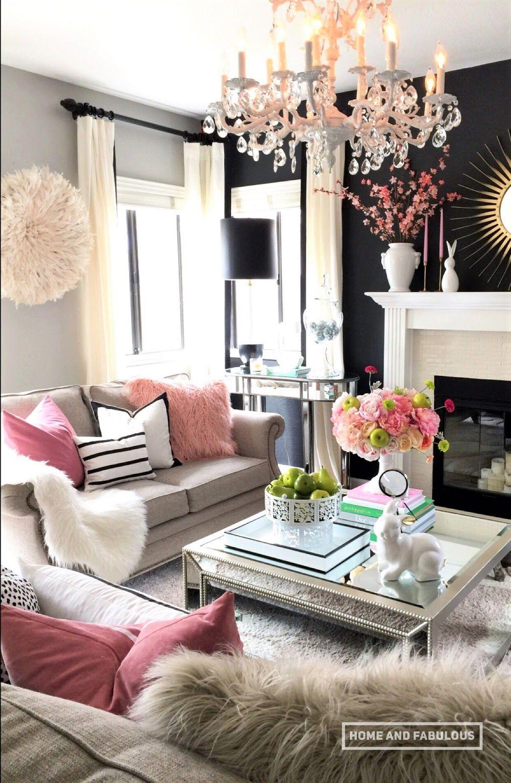 fabulous living room swingland nod for hom   Home and Fabulous   Living room in 2019   Cute living room ...