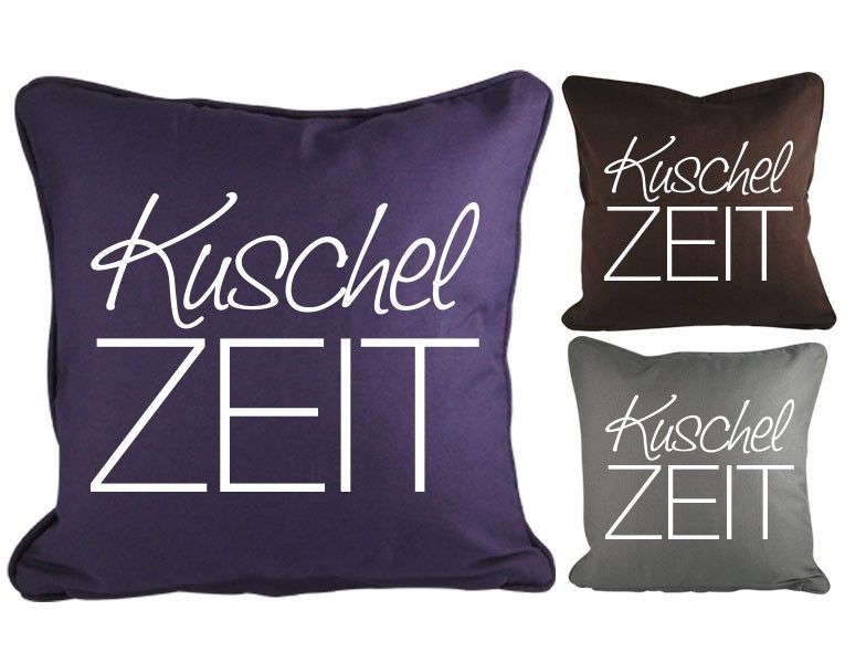 dekokissen kuschelzeit die beliebtesten dekokissen motivkissen pinterest dekokissen. Black Bedroom Furniture Sets. Home Design Ideas