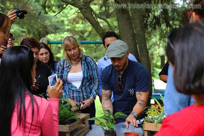 Curso de jardines verticales en Argentina 2014