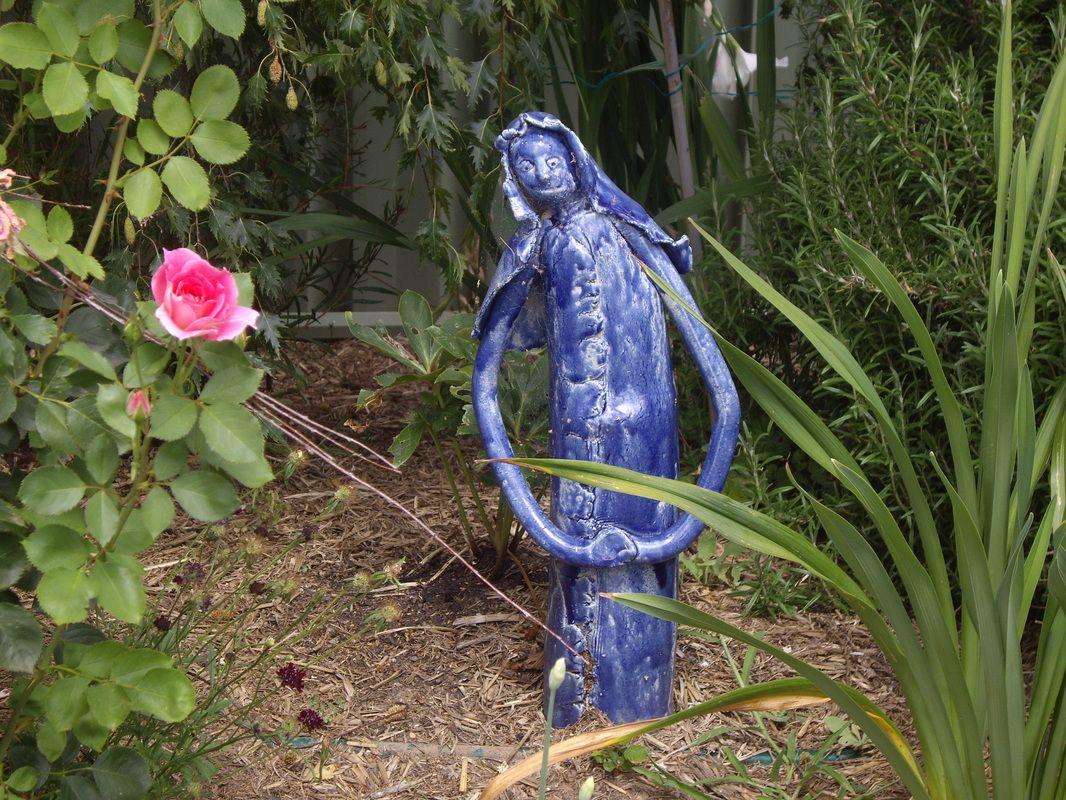 fun ceramic sculpture