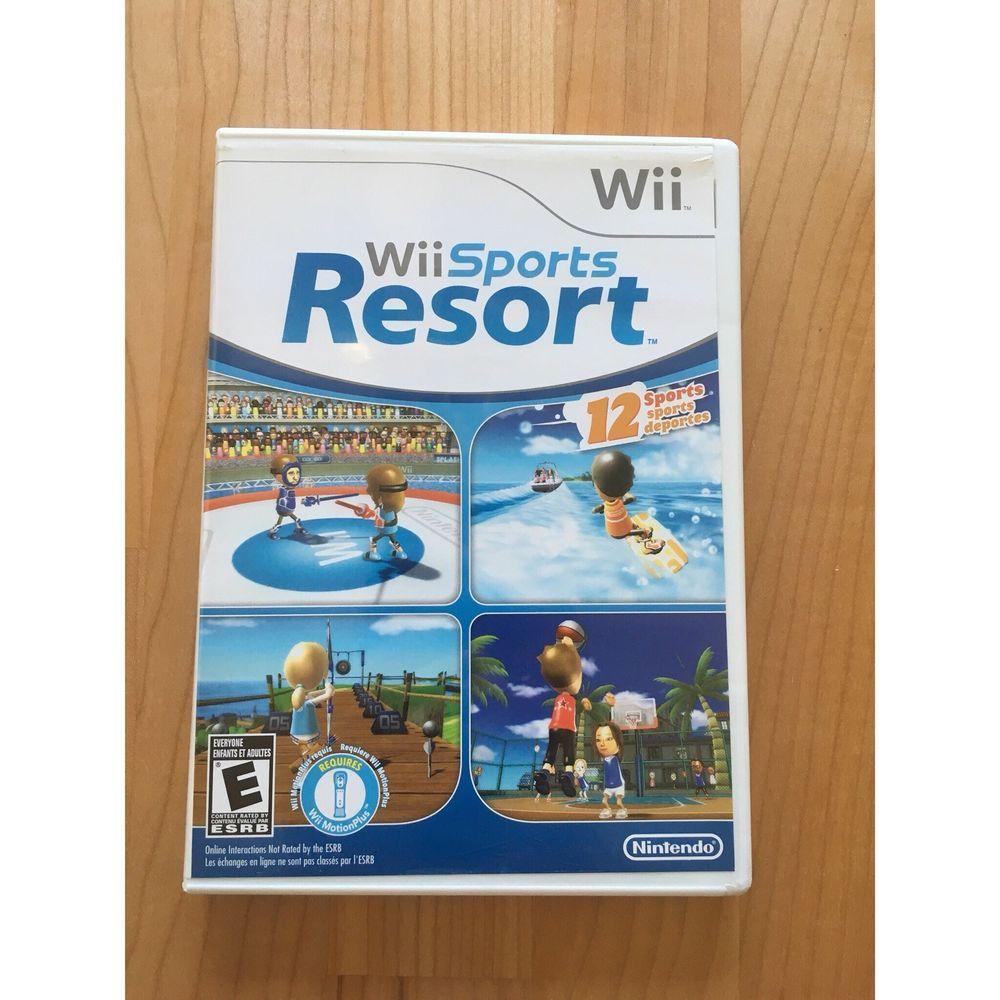 Wii Sports Resort (Nintendo Wii, 2009) CIB 45496901516