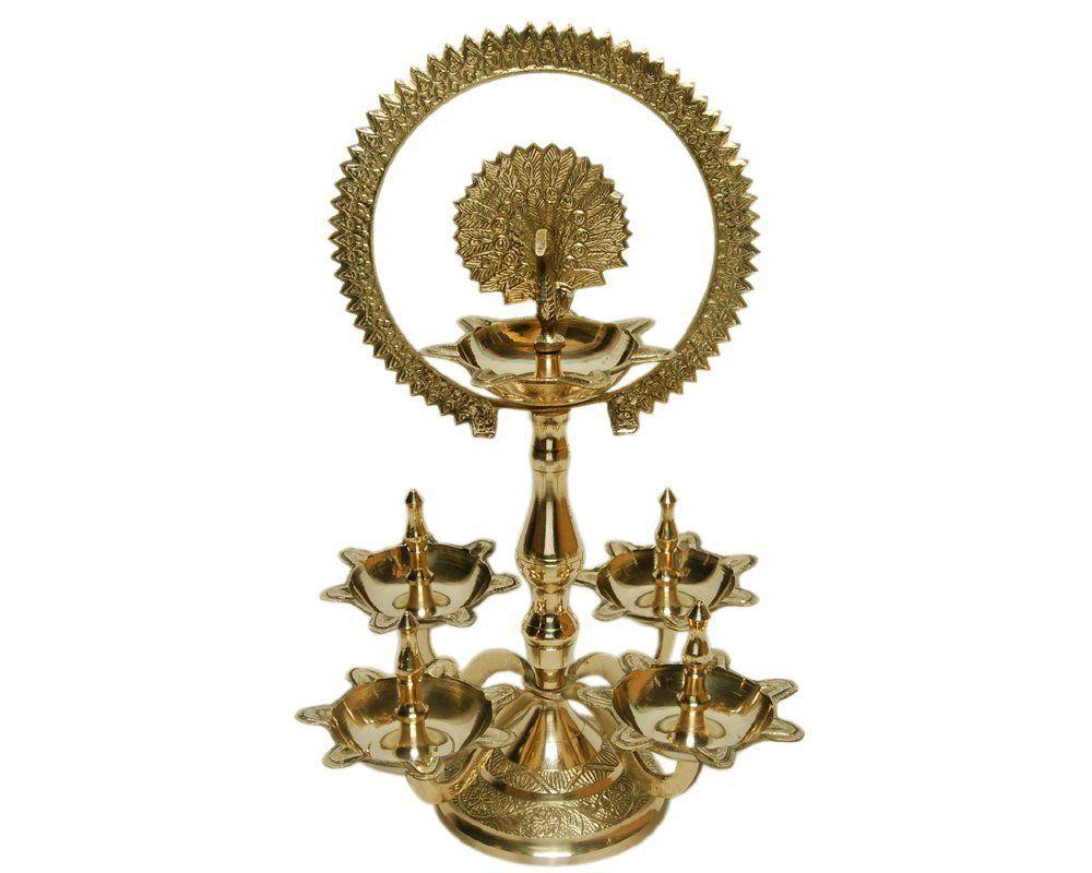 MA DESIGN HUT Diwali Item - Deepawali Lighting Punch Deep Brass Oil ...