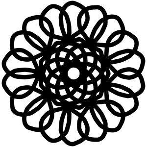 Silhouette Design Store - View Design #196225: flower