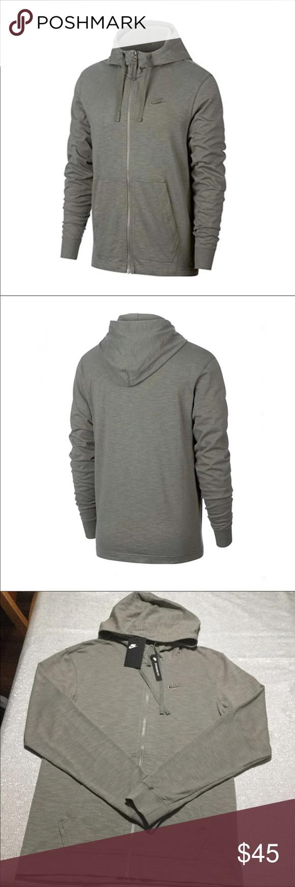 f55cae7546aa SMALL OR XL NIKE DUAL SPORTSWEAR HOODIE NWT MEN Nike Sportswear Dual Full  Zip Hoodie