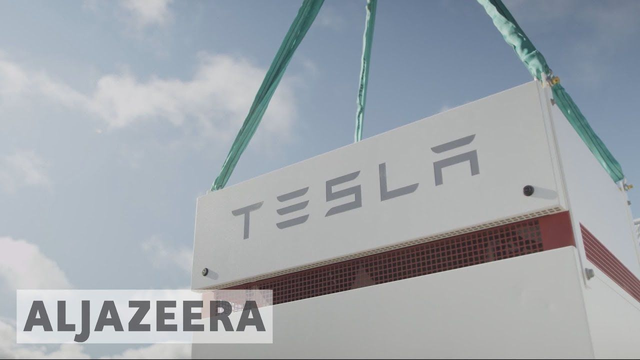 Tesla Activates World S Biggest Battery Https Youtu Be Pief4wrsggq Big Battery Tesla World S Biggest