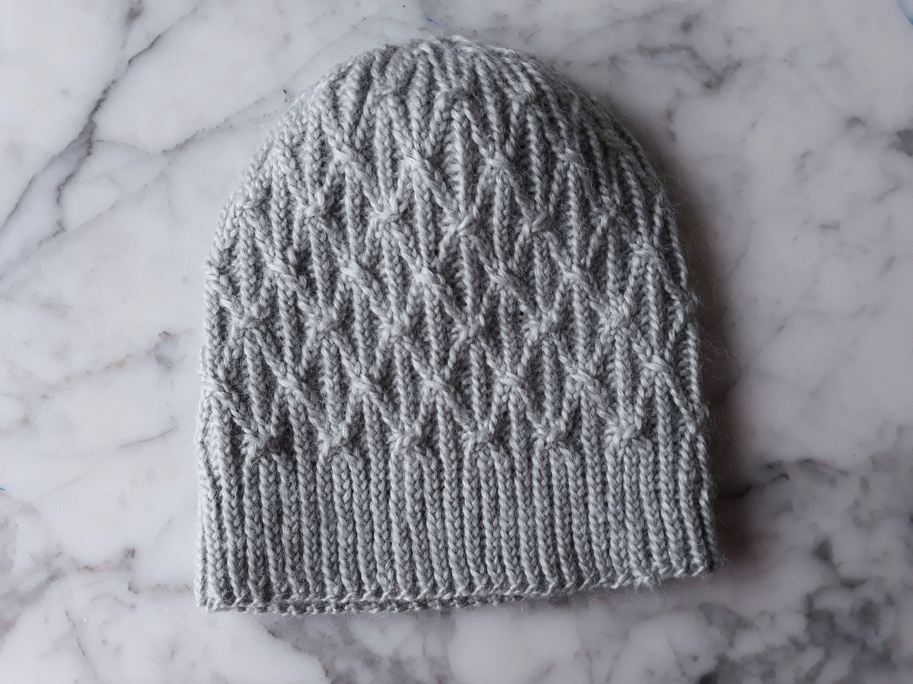 Cable Knit Beanie Handknit Hat In Natural Fibres Wool Bamboo Aran Hat Beanie For Him Beanie For Her Made In Ireland Original Design Cable Knit Hat Pattern Hand Knit Hat Hat