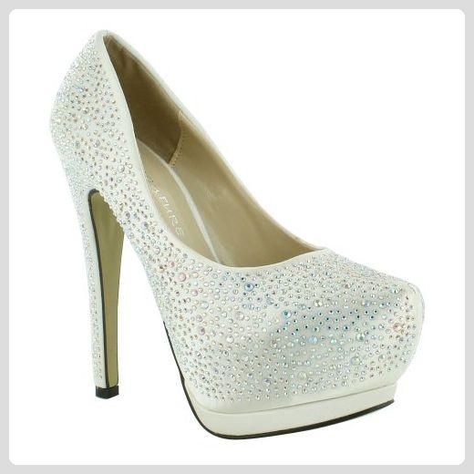 Footwear Sensation , Damen Plateau , Beige beige Größe