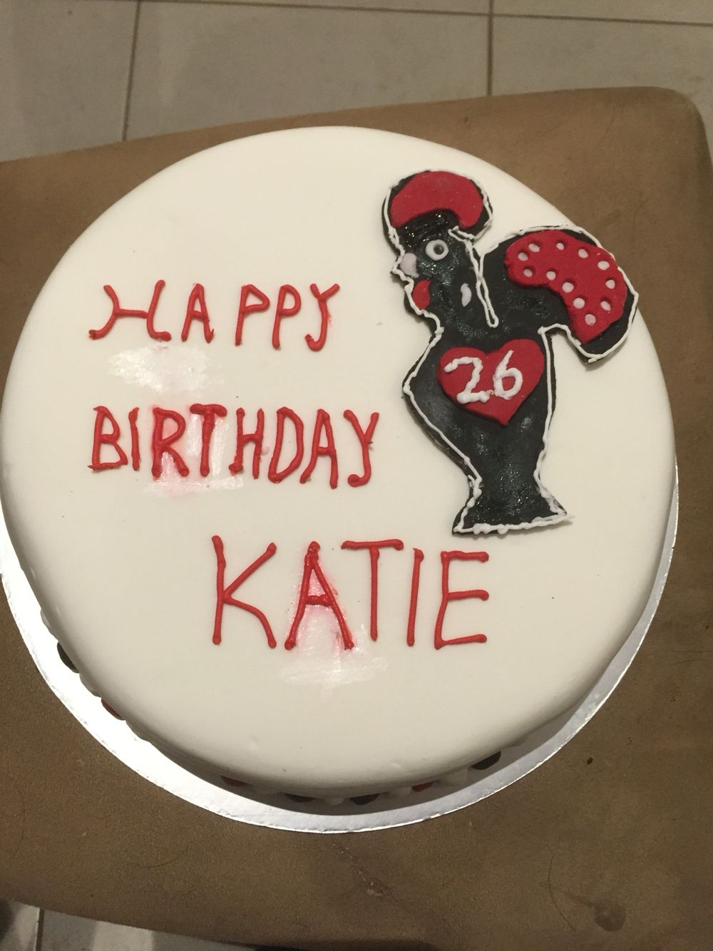 Nandos Birthday Cake Katie Cakes For Kids Pinterest Birthday