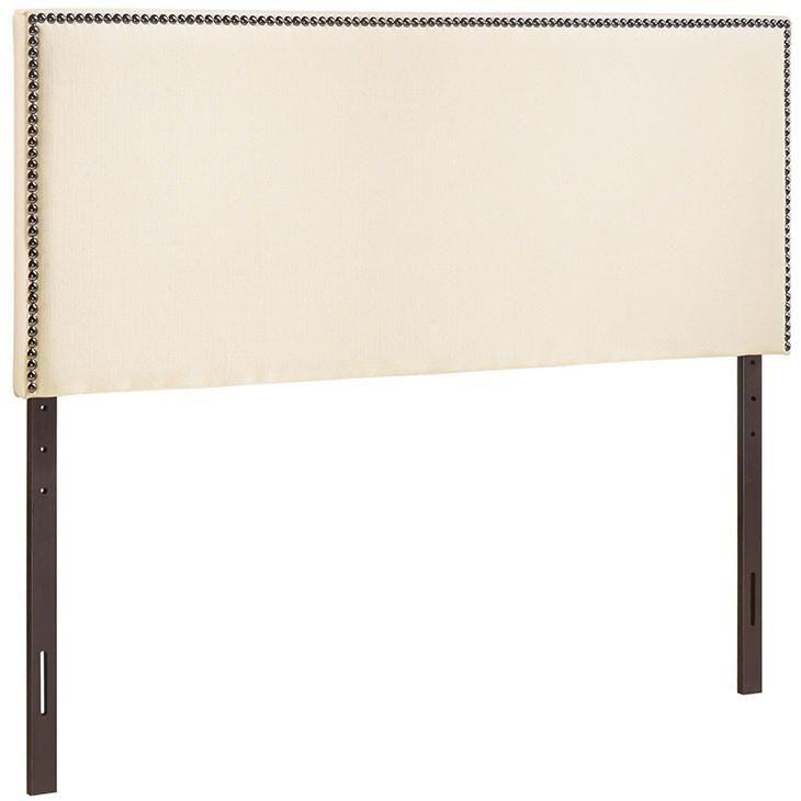 King Nailhead Upholstered Headboard MOD-5216