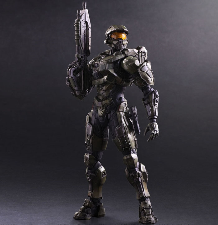 """49.99$  Buy here - """"Free Shipping Cool 10"""""""" PA KAI Game Halo 5 Guardians Master Chief Boxed 25cm PVC Action Figure Collection Model Doll Toy""""  #bestbuy"""