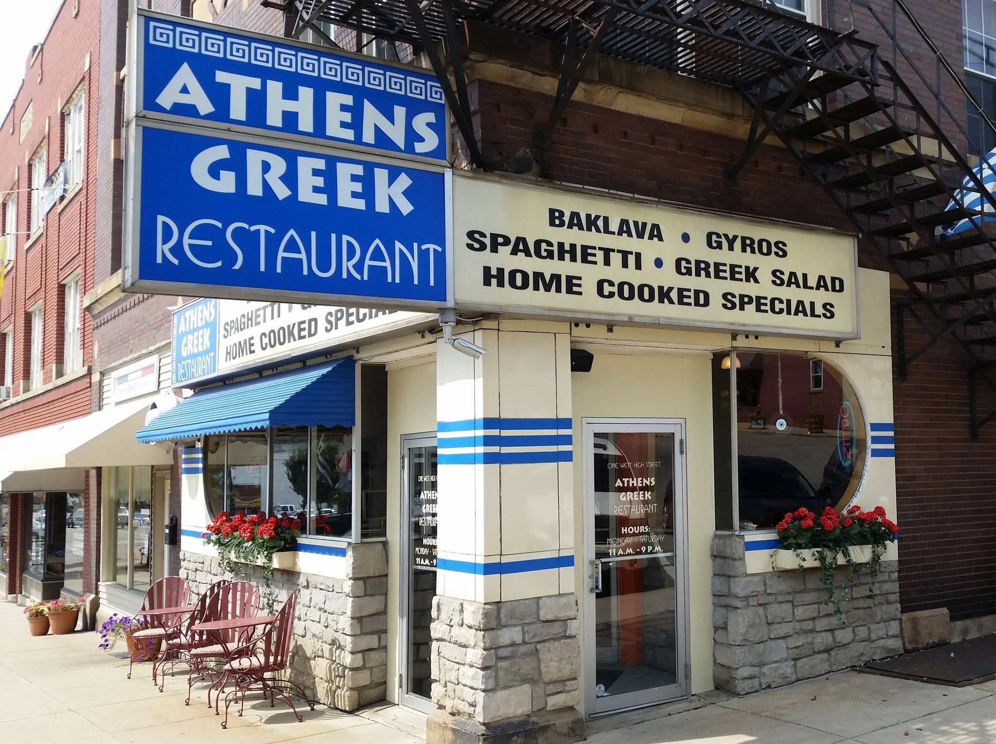 Athens Greek Restaurant In Mount Vernon Ohio Quality Affordable Home Style