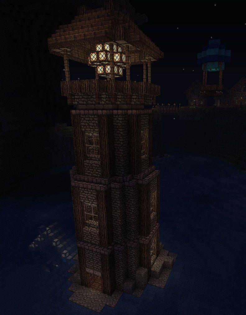 マイクラ 灯台 灯台 マインクラフト ハウス