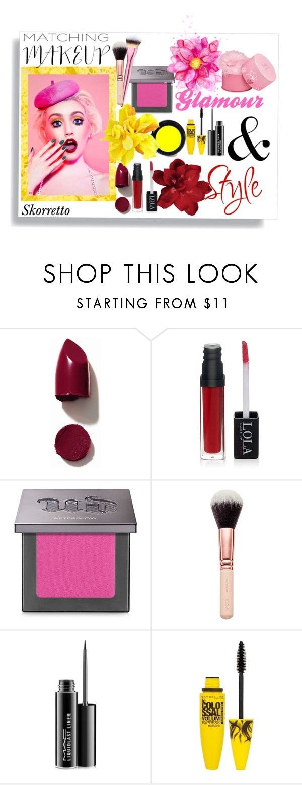 """Oh!"" by skorretto ❤ liked on Polyvore featuring beauty, NARS Cosmetics, Urban Decay, MAC Cosmetics, Maybelline and Elizabeth Arden"