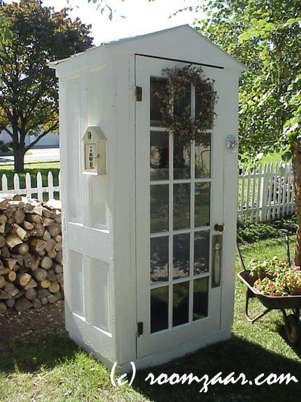 repurposed wooden doors | comments (0) | yard work | Pinterest ...