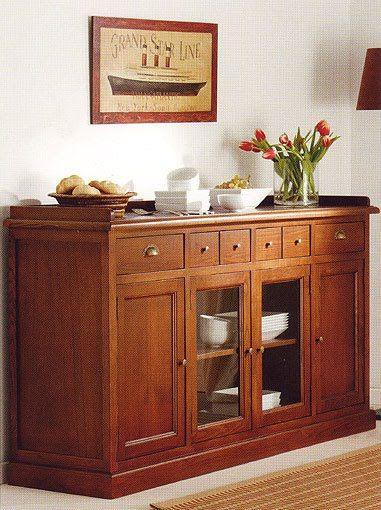 Ayuda comedor armario para guardar la vajilla decor - Samarkanda muebles ...