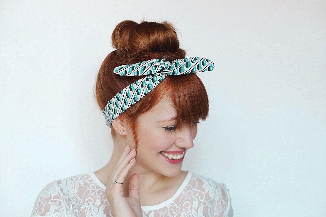 how to make a headband bow