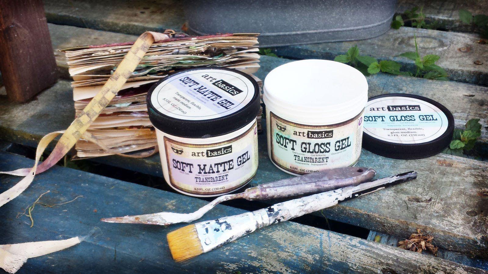 art basics soft gels by finnabair tutorial pinterest prima