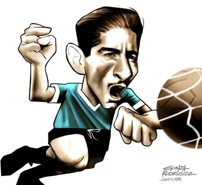 Alcides Ghiggia O carrasco do Brasil e seu gol na decisão da Copa de 1950, no Maracanã.