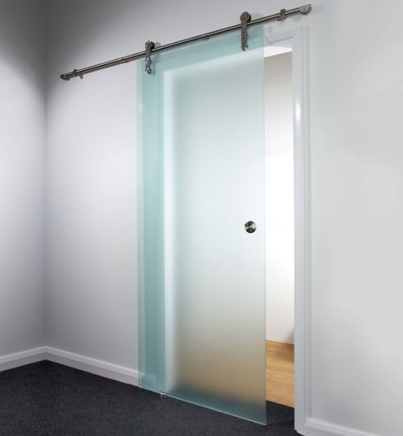 Great Luxury Bathroom Sliding Glass Doors With Aluminium Round Handle
